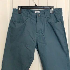 Calvin Klein. Men's pants. Blue grey colour